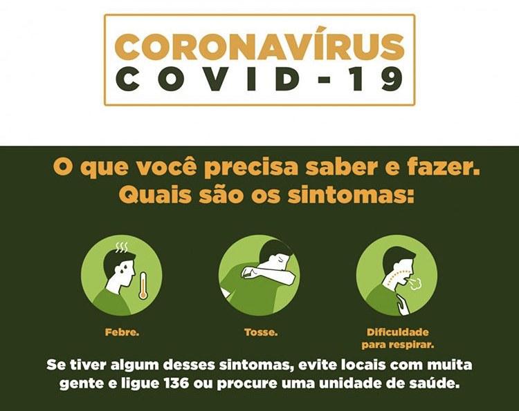 Restaurante em Quarentena Sobrevivendo ao Coronavírus sintomas
